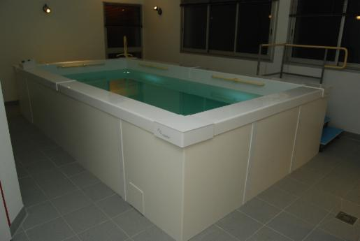 Les piscines medicales for Coque piscine 2x3